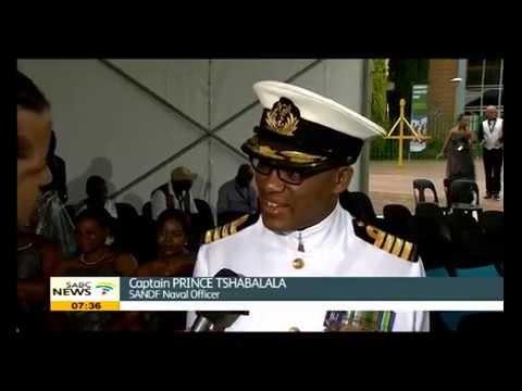 Captain Prince Tshabalala on the role of the SA Navy