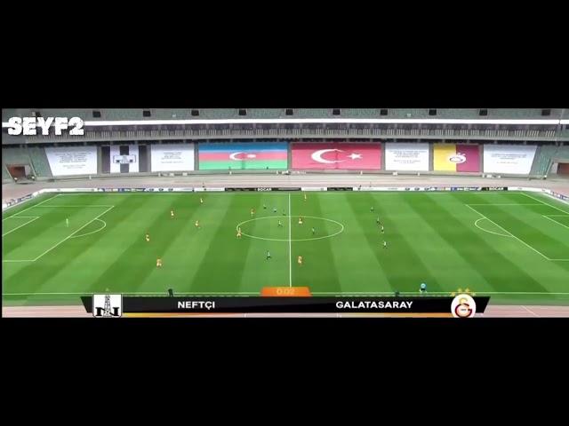 Neftci Bakü 1-3 Galatasaray Maç Özeti 17 Eylül 2020