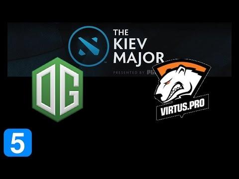 OG vs VP Game 5 Grand Final Kiev Major Highlights Dota 2