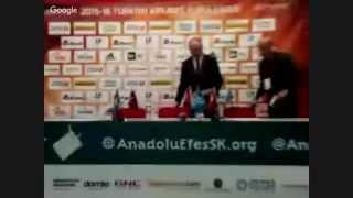 Anadolu Efes - Olympiacos Maçı Basın Toplantısı