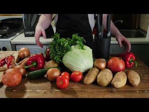 Как порезать овощи