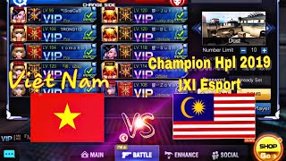 Crisis Action : VN Team Vs IxI Esport Champion Hpl 2019 MaLaySia || Tv An( ZLX)