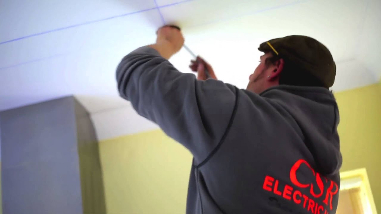 Csr Electrical Ltd First Fix Wiring For Downlights Youtube Diagram 4