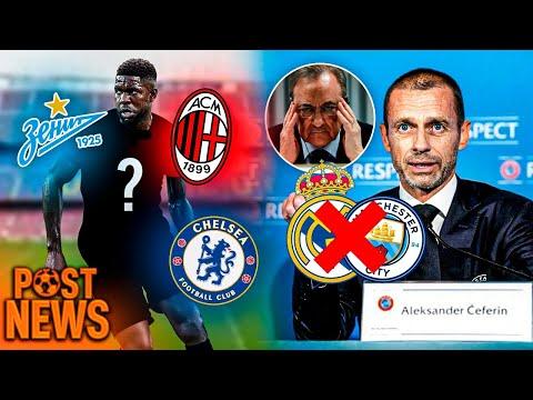 LA UEFA QUIERE EXPULSAR AL MADRID Y AL CITY DE ESTA CHAMPIONS | UMTITI PODRÍA TENER NUEVO EQUIPO