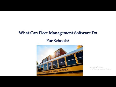 What Can Fleet Management Software Do For Schools   [Free Demo]   FleetRoot.com