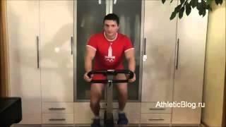 Велотренажер для дома. Обучающее видео(http://www.youtube.com/user/Stevent7Play., 2012-12-18T19:50:41.000Z)