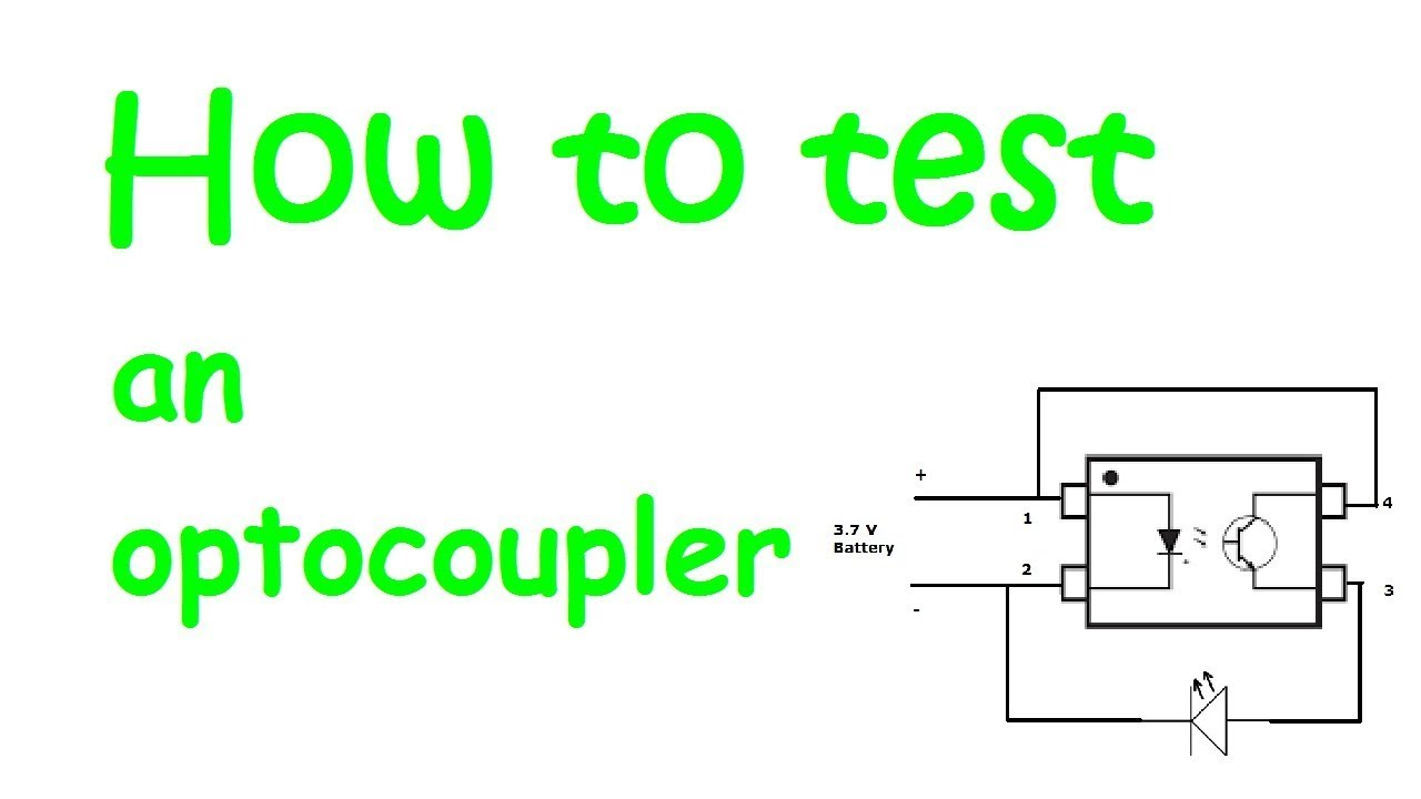 How to test an optocoupler Opto Isolator Circuit Schematics on electrical schematic, audio schematic, gps schematic, amp schematic, switch schematic, sensor schematic, power schematic, relay schematic, inductor schematic, electronic schematic, wireless schematic, motor schematic,
