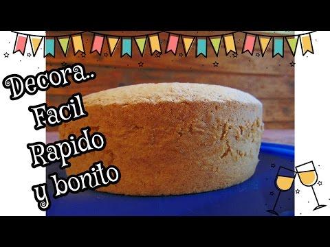 Decora una torta muy fácil y bonito!