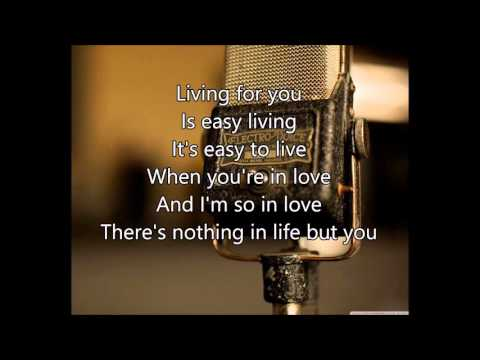 Easy Living - Billie Holiday - Lyrics - Fallout 3