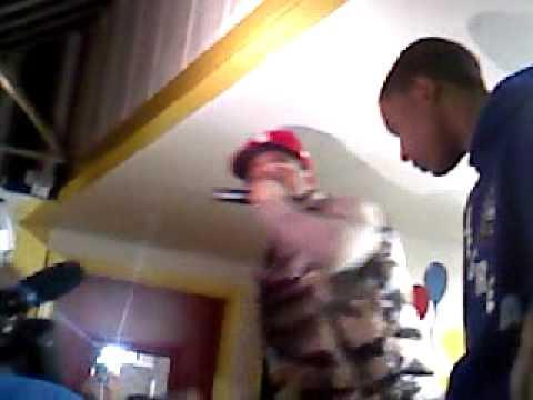 Lloyd singing