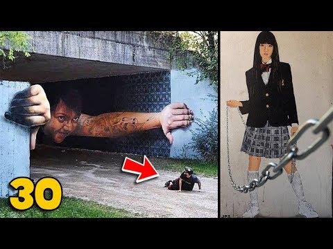 30 ภาพวาด ลวงตา ศิลปะข้างถนน อันน่าทึ่ง | OKyouLIKEs