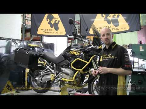 BMW R1200GS with adventure touring accessories by TwistedThrottle.com