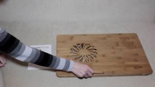 видео Купить столик для ноутбука SITITEK Bamboo 2