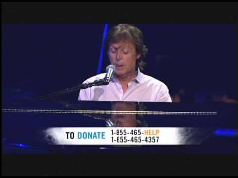 Paul McCartney 1985 121212concert Hurricane Sandy