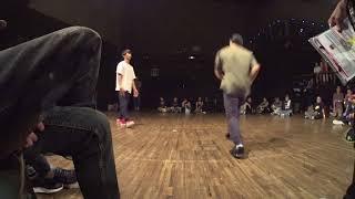 Taichi vs Sho BEST8 BREAK DANCE ALIVE HERO'S 2018 HOUSE KANTO CHARISMAX