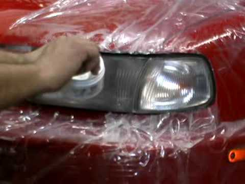 Glass Technology Headlight Repair Restoration Youtube