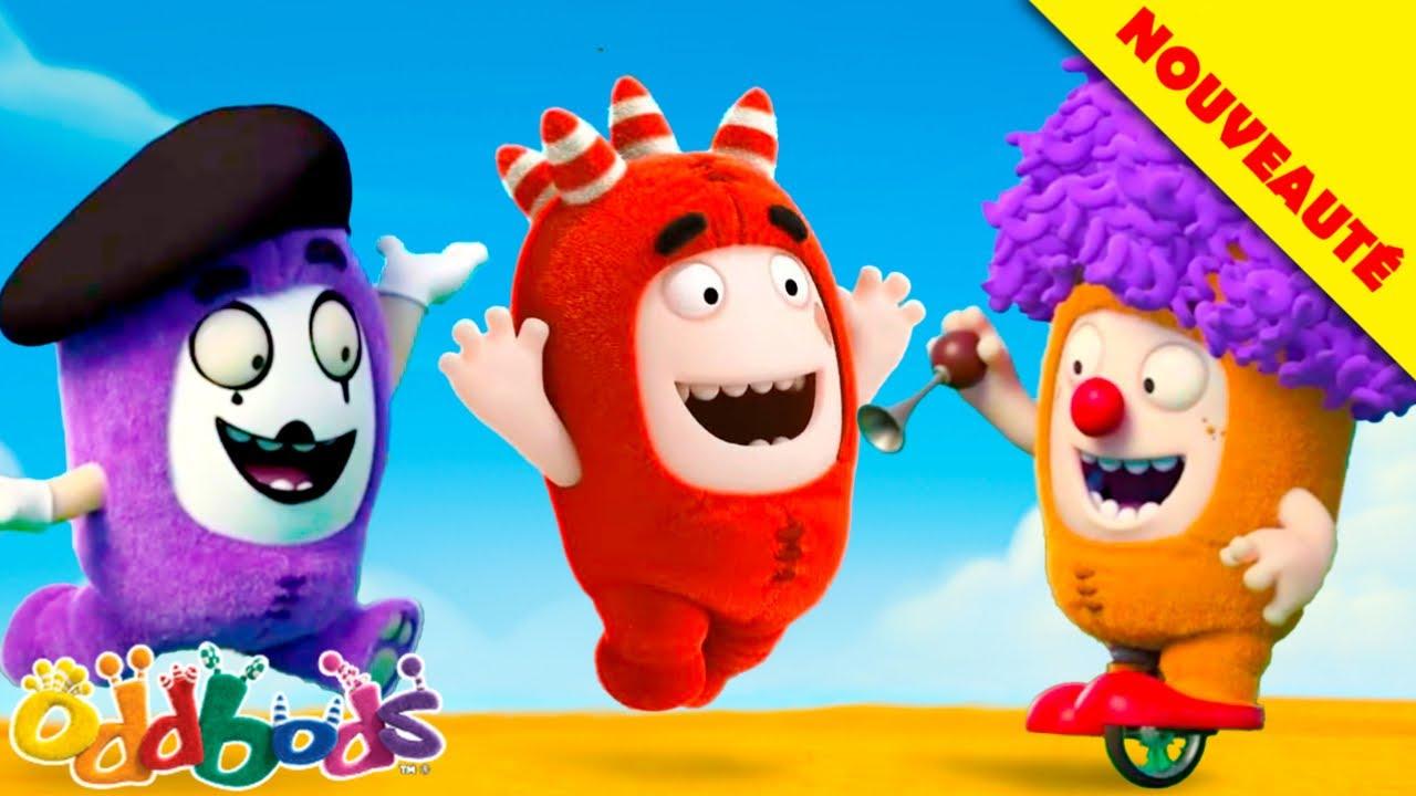 Oddbods | Nouveauté | LE CIEL BLEU DE L'ÉTÉ | Dessins Animés Amusants pour les Enfants