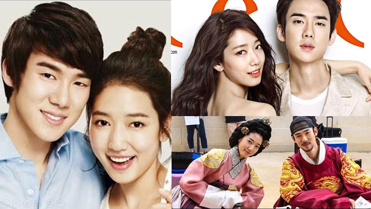 Yoon shi yeon und Park shin hye Dating