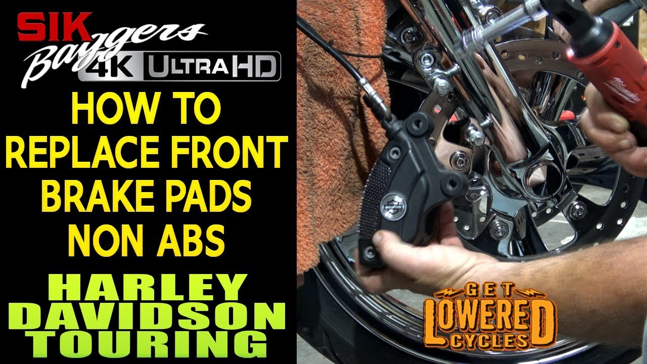 How To Change Front Brakes Harley Davidson Touring