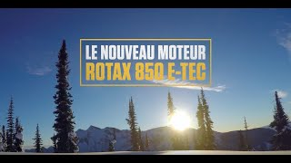 Ski-Doo 2017 : Le Moteur Rotax 850 E-TEC