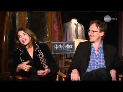Natalia Tena & David Thewlis talk Harry Potter