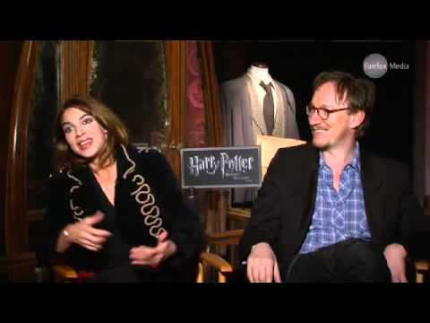 Natalia Tena & David Thewlis talk Harry Potter
