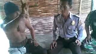 suku dayak indramayu vs polisi