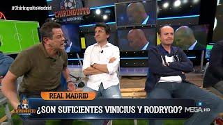 RONCERO VS. JUANMA | EL CARA A CARA MÁS MADRIDISTA DE 'EL CHIRINGUITO'