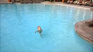 Уроки подводного плавания от Миши. California 29.