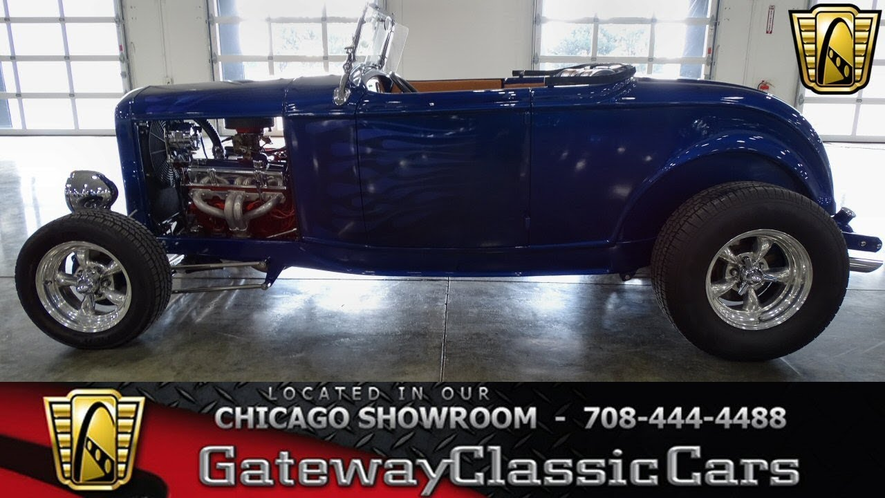 1932 Ford roadster Gateway Classic Cars Chicago #1332 - YouTube