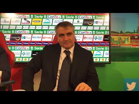 Ternana, la conferenza stampa di presentazione di Luigi De Canio