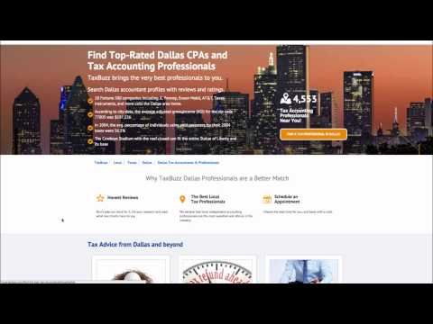 Find Top-Rated Dallas CPAs and Tax Accounting Professionals