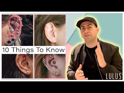 Ear Piercing Diagram - What is Ear Piercing Diagram ? **2021 Piercing