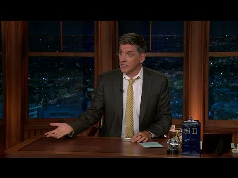 Late Late Show with Craig Ferguson 10/10/2011 Claire Danes
