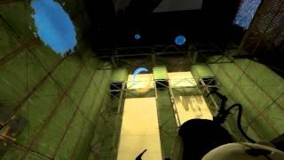 Let's Play Portal 2 #019 [German] [Blind] [HD] - Infinite Jump? Ne ausverkauft