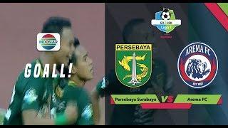 Goal Misbakus Solikin - Persebaya (1) vs Arema FC (0)   Go-Jek Liga 1 bersama Bukalapak