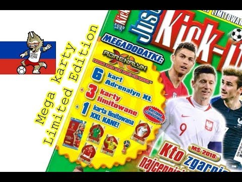 Super Just Kick It 7 2018 World Cup Russia New Cards Limited