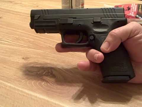 Cleaning the Springfield XD .40  Part 1