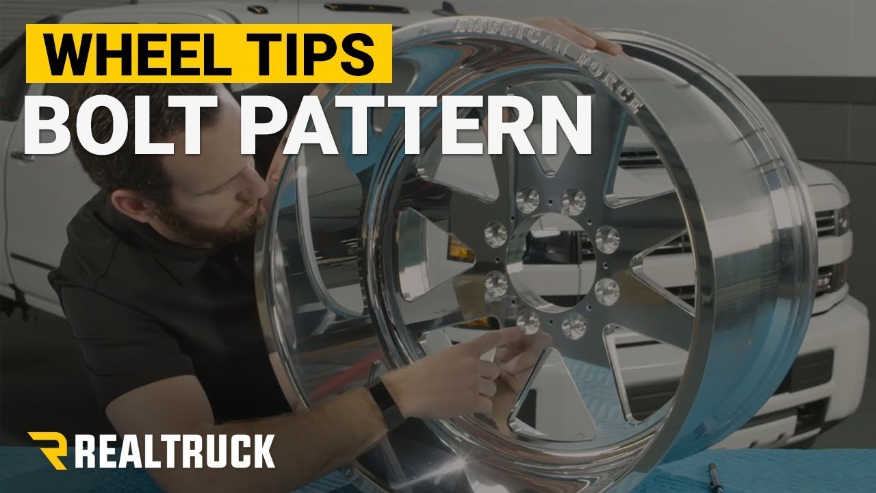 How To Find Your Wheel Bolt Pattern Wheel Tips Youtube
