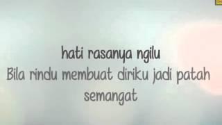 Anji   Jerawat Rindu  Video Lirik