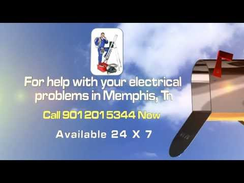 24 Hour Emergency Electrician Memphis Tn Call (901)-201-5344 Now