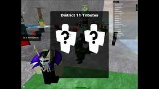 Roblox The Hunger Games [Episode 1] Ya I Got Reaped!