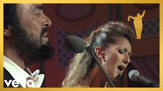 Смотреть клип Céline Dion, Luciano Pavarotti - I Hate You Then I Love You