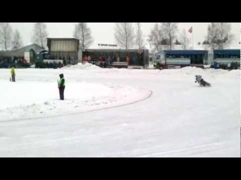 Jääspeedway PM-finaali (Nordic Champion) 2012 Kauhajoki, Semifinaali Ja Finaali Lähdöt