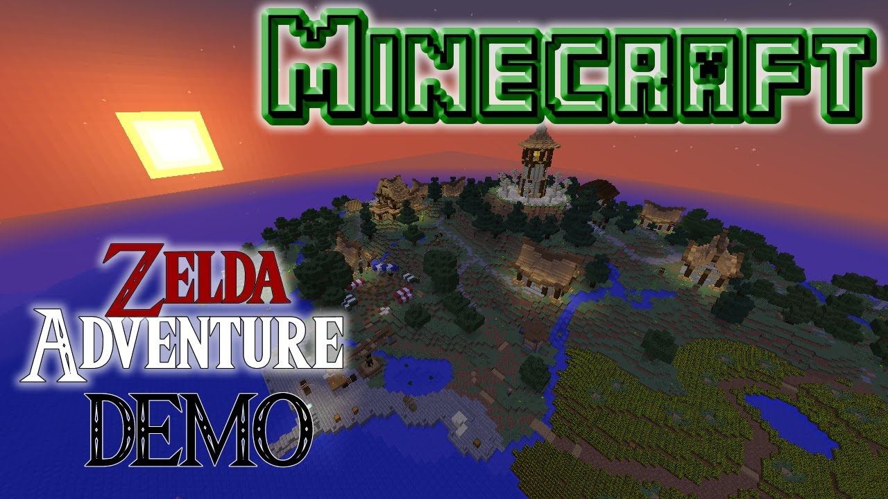 Neue ZELDA Adventure Map DEMO [MC 1.10.2|Download] - YouTube