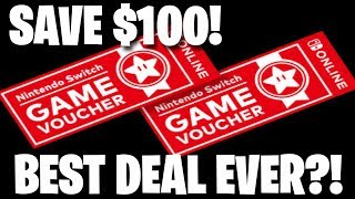 Best Nintendo Deal Ever?! Nintendo Switch Game Vouchers!