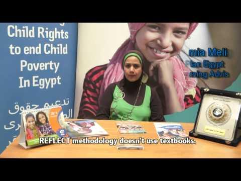 REFLECT- Adult literacy methodolgy on YouTube