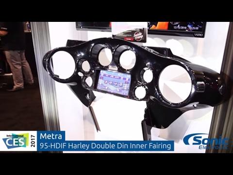 Metra 96-13 Harley-Davidson Inner Fairing For Double Din Car Stereo | CES 2017