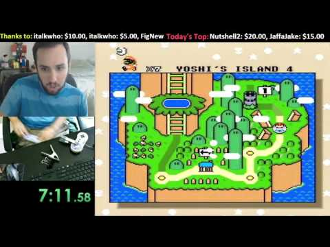 [9:39] 11 Exit Code Injection Speedrun in Super Mario World
