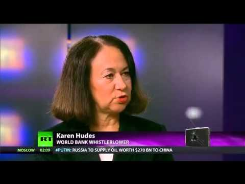 World Bank Money Laundering Criminals:  Interview with Whistleblower Karen Hudes
